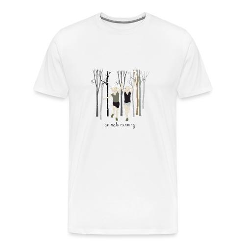 Moutons running - T-shirt Premium Homme