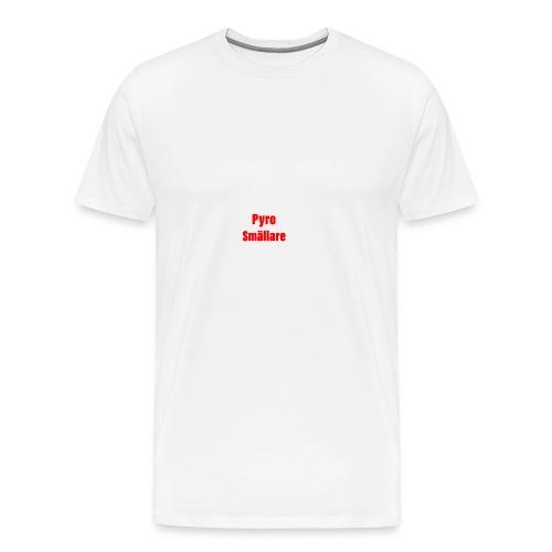 Pyro Smällare - Premium-T-shirt herr