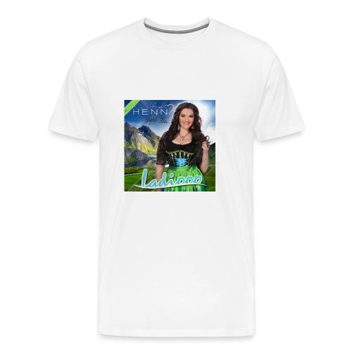 Ladiooo mit Unterschrift - Männer Premium T-Shirt