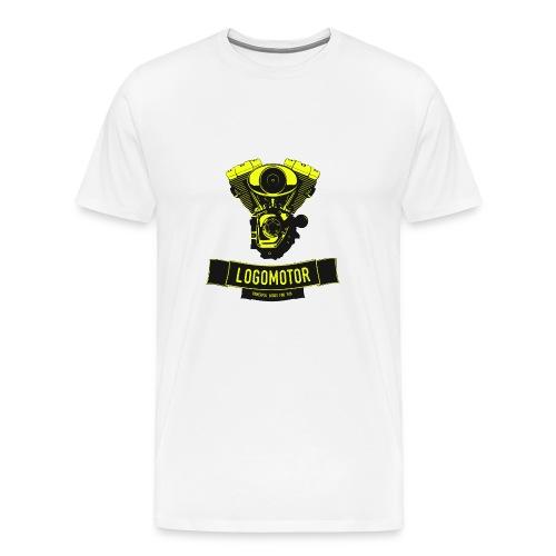 logomotor logo web - Männer Premium T-Shirt