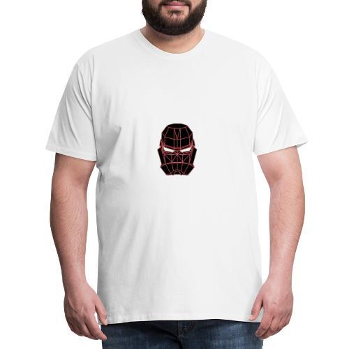 rouge masque spatial - T-shirt Premium Homme