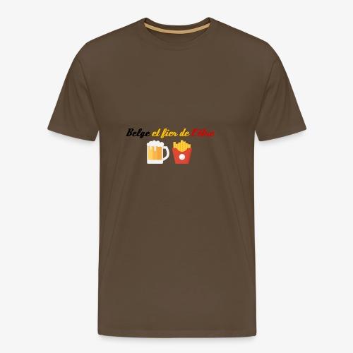 Belge et fier de l'être - T-shirt Premium Homme