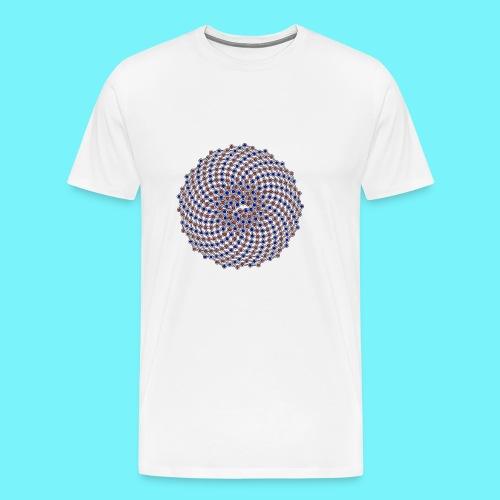 Fibonacci network one - Men's Premium T-Shirt