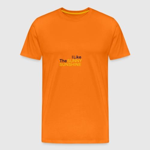 Sunny Sunshine... - Mannen Premium T-shirt