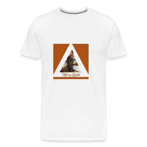 Triangle cuir - T-shirt Premium Homme