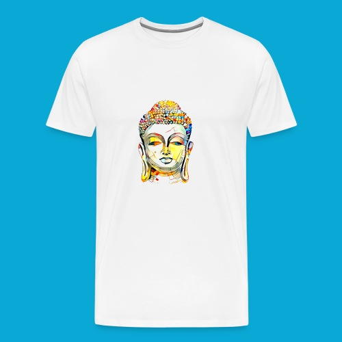 Buddha Kopf - Männer Premium T-Shirt