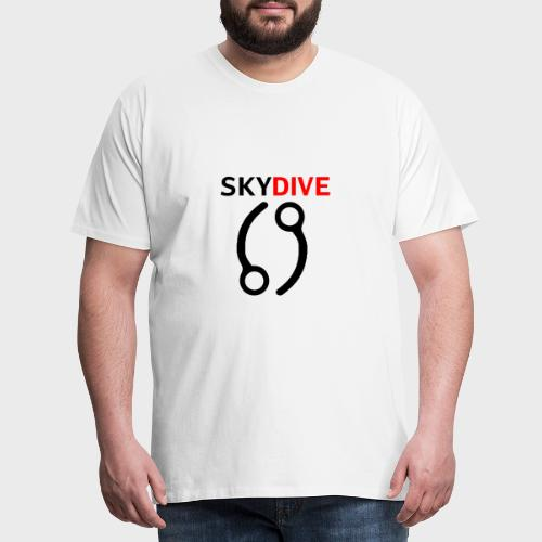 Skydive Pin 69 - Männer Premium T-Shirt