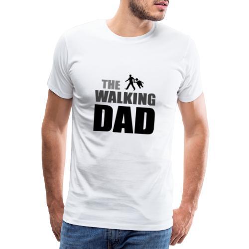 the walking dad auf dem Weg in die lustige Bar - Männer Premium T-Shirt