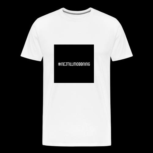#nejtillmobbning - Premium-T-shirt herr