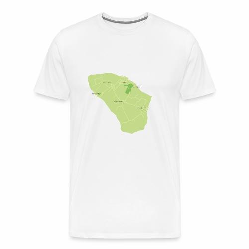 Hven den skønne ø mellem Sverige og Danmark - Herre premium T-shirt
