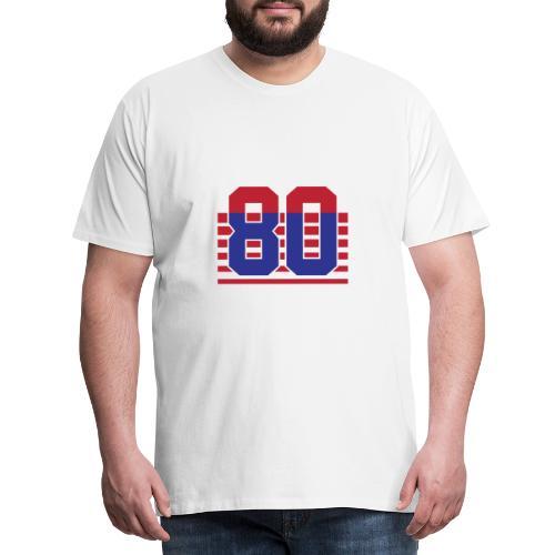 80 Stripes - Maglietta Premium da uomo