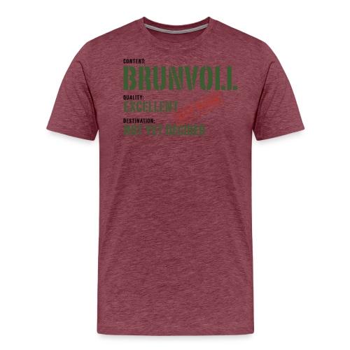 content brunvoll - Premium T-skjorte for menn