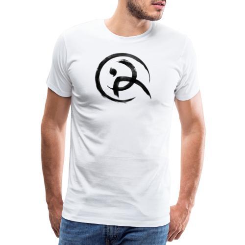 Parkour Austria (schwarzes Symbol) - Männer Premium T-Shirt
