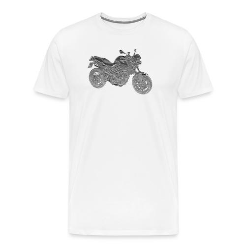 F800R Relief png - Männer Premium T-Shirt
