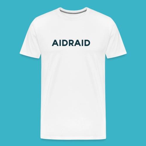 Aid Raid Simples Shirt Design - Männer Premium T-Shirt
