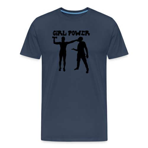 GIRL POWER hits - Camiseta premium hombre