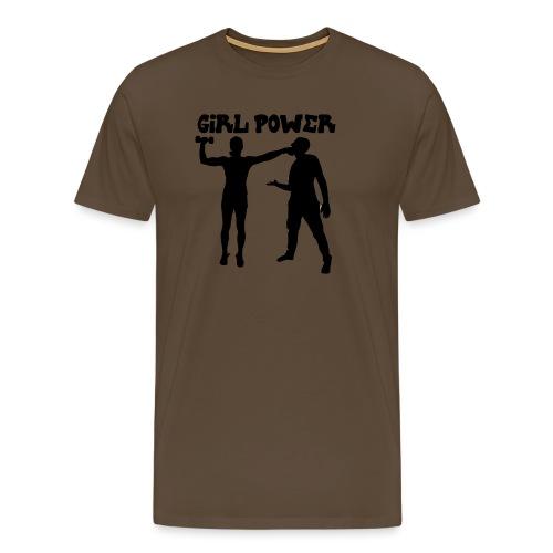 GIRL POWER hits - Camiseta premium hombre
