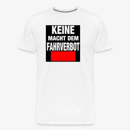 Fahrverbot - Männer Premium T-Shirt