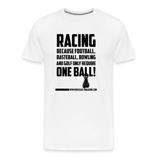 balls png - Männer Premium T-Shirt