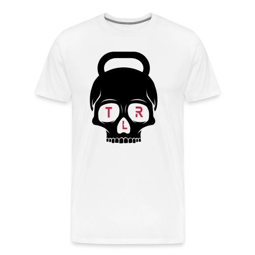 TLR Skull 2 red T-shirt - Premium-T-shirt herr