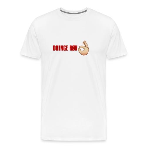 DRENGE RØV - Herre premium T-shirt