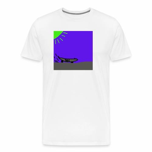 Skate! - Premium-T-shirt herr