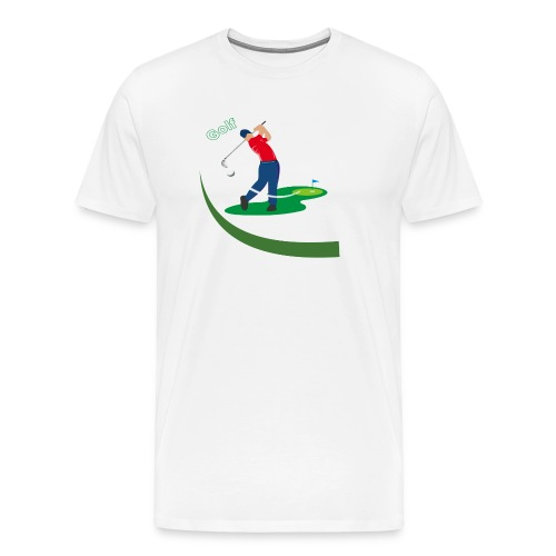 Golf - T-shirt Premium Homme