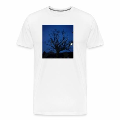 tree night sky - Men's Premium T-Shirt