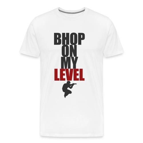 bhop level design png - Men's Premium T-Shirt