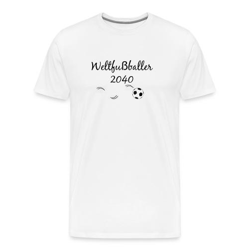 Weltfußballer.png - Männer Premium T-Shirt