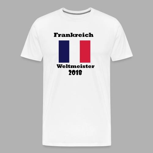 Frankreich Fan Shirt - Männer Premium T-Shirt