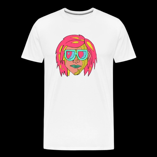 Man pink - Men's Premium T-Shirt