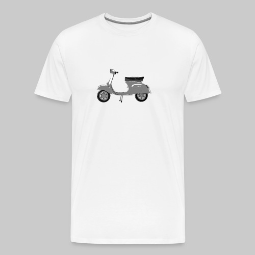 Classic scooter greys - Men's Premium T-Shirt