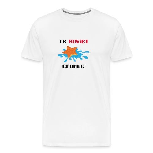 LE SOVIET ÉPONGE - T-shirt Premium Homme