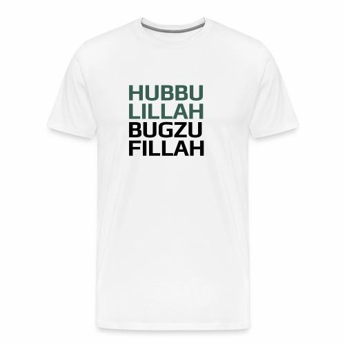 HUBBU - Herre premium T-shirt