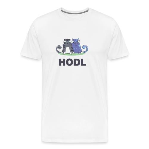 Kitty HODL - Men's Premium T-Shirt