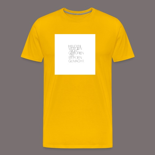 Helden - Männer Premium T-Shirt