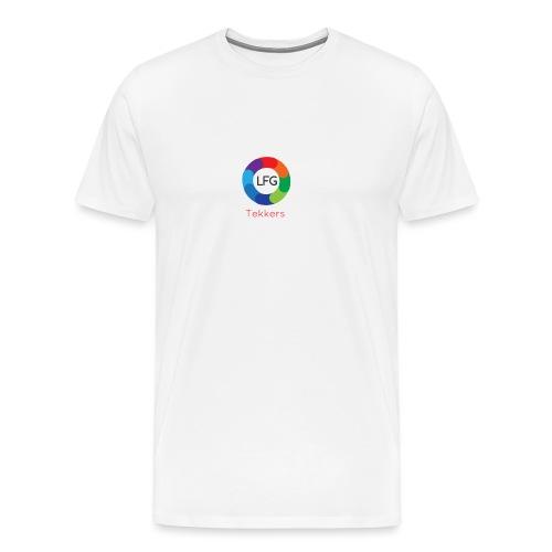 New LFG Tekkers Logo - Men's Premium T-Shirt