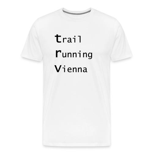 TRV Black 3zeilig - Männer Premium T-Shirt