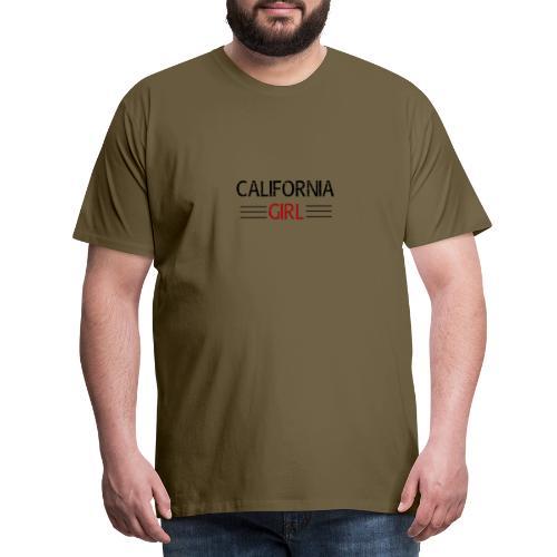 california girl - Männer Premium T-Shirt