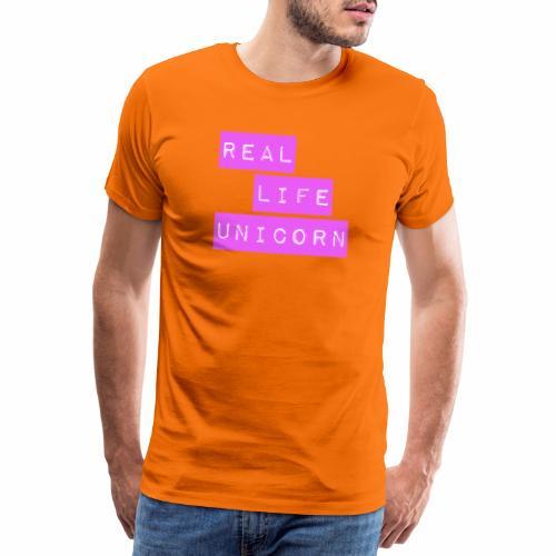 Real life unicorn - Men's Premium T-Shirt
