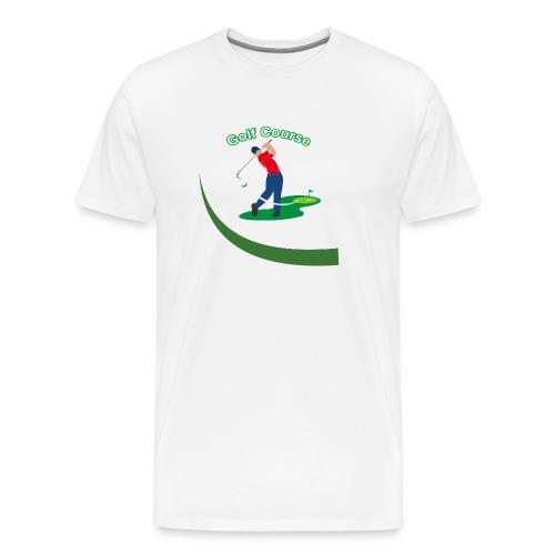 Golf Course - T-shirt Premium Homme