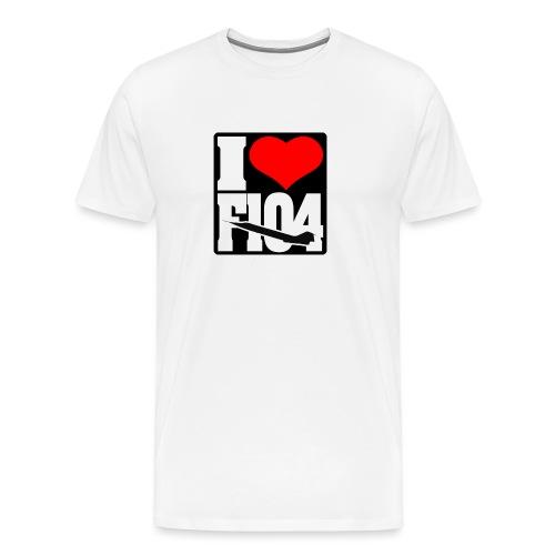 ILoveF104 - Maglietta Premium da uomo