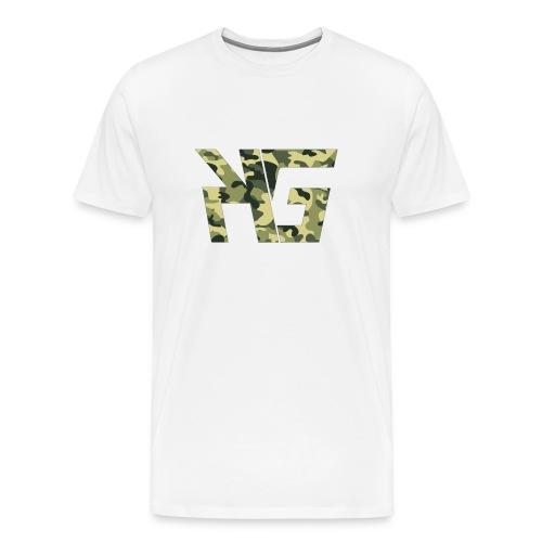 KG camo - Men's Premium T-Shirt