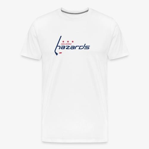 Helsinki Hazards Logo - Miesten premium t-paita