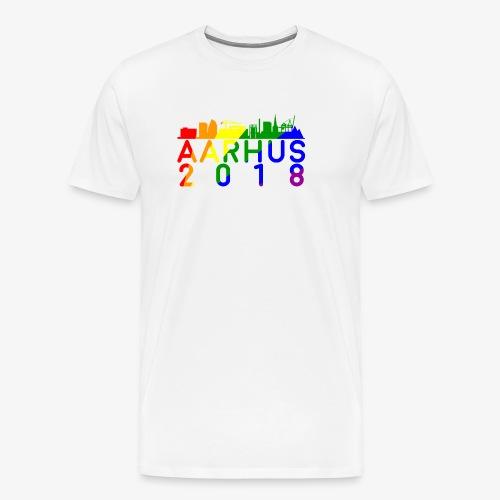 Aarhus Pride 2018 - Herre premium T-shirt
