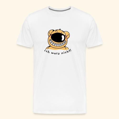 Ich wars nicht Ich bin unschuldig - Männer Premium T-Shirt