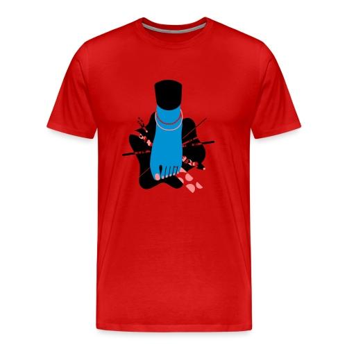 Piet Bleu - Männer Premium T-Shirt