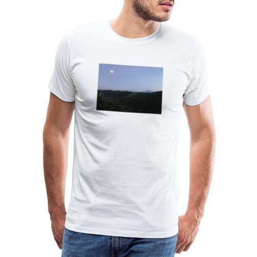 Paesaggio con luna - Maglietta Premium da uomo