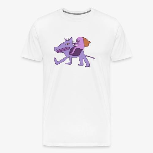 au galop - T-shirt Premium Homme